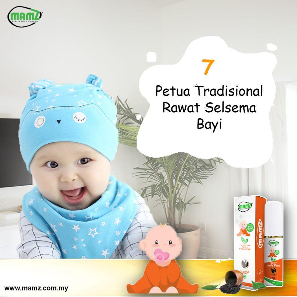Terbongkar 7 Petua Tradisional Rawat Selsema Bayi No 7 Mommies Wajib Baca Mamz