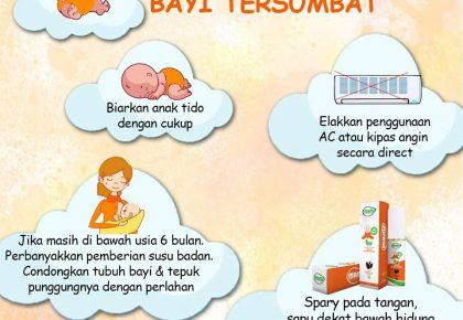 TIPS ATASI HIDUNG BAYI TERSUMBAT!