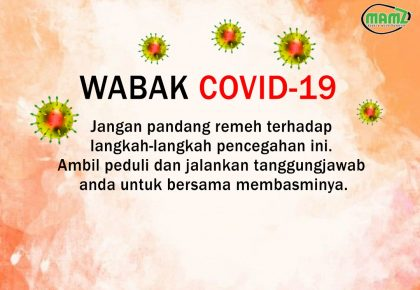 LANGKAH PENCEGAHAN COVID – 19