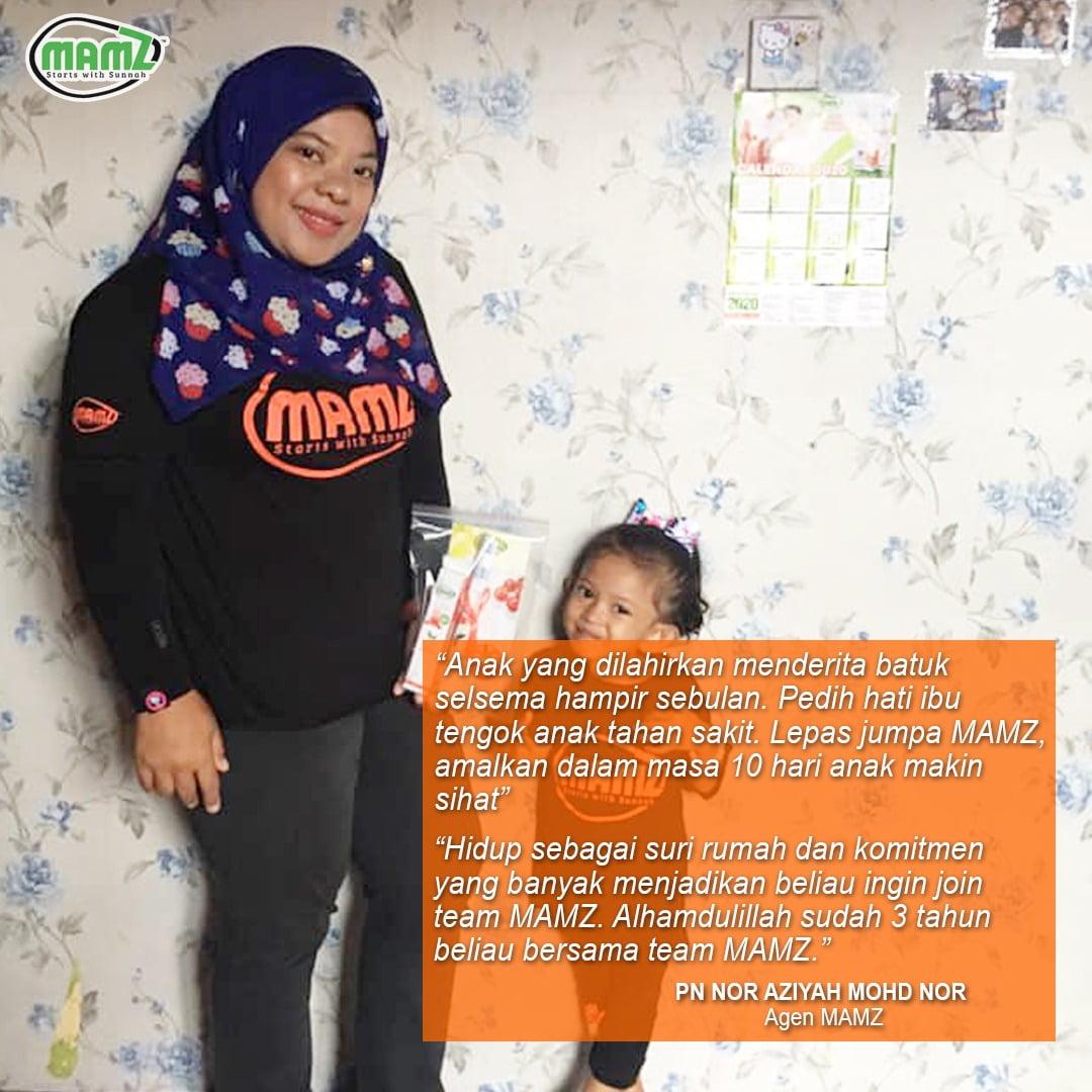 """""""Hidup sebagai suri rumah dan komitmen yang banyak menjadikan beliau ingin menjadi sebahagian dari Team Mamz.."""""""